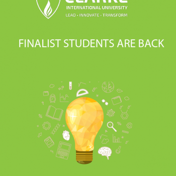 Finalist students are back