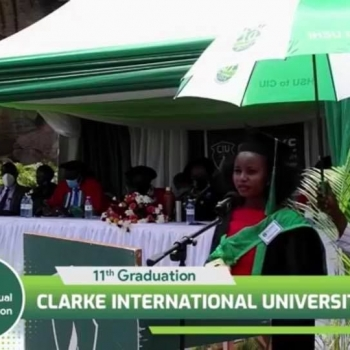 CIU 11th Graduation: Angela Musimenta